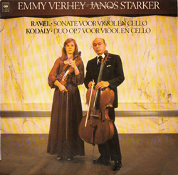 Emmy Verheij and Janos Starker play duos